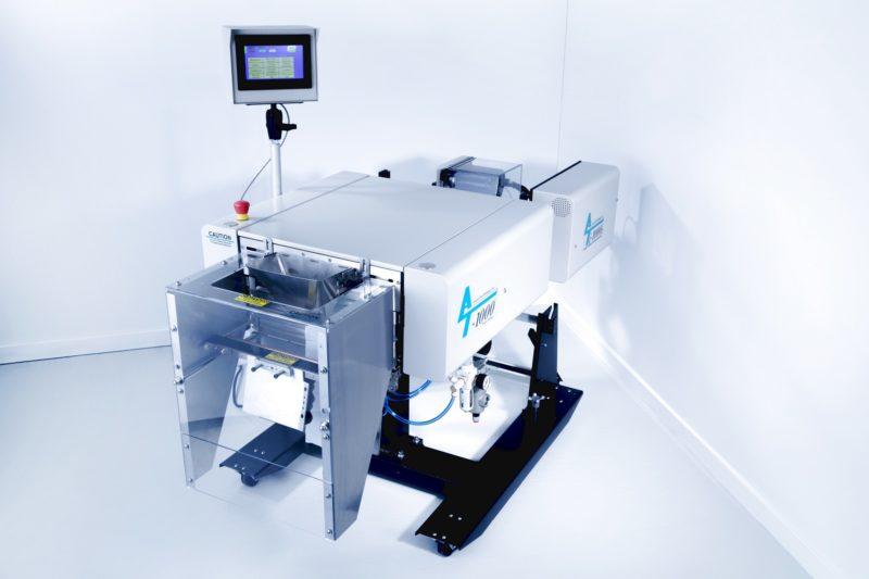 Automatische Verpackungsmaschine Verpackungssystem Technik Automatic Packaging Machine T1000 Front